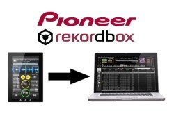 Logiciel dj Pioneer rekordbox avec smartphone et tablette