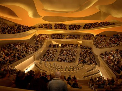 Intérieur Grande salle 2 - © Philharmonie de Paris – Arte Factory