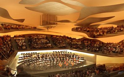 Intérieur Grande salle 1 - © Philharmonie de Paris – Arte Factory