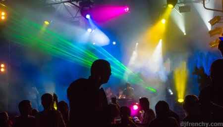 laser clubbing
