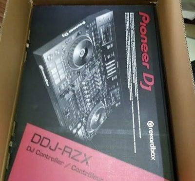 Le contrôleur DJ professionnel Pioneer DDJ RZX 4 voies, audio et vidéo
