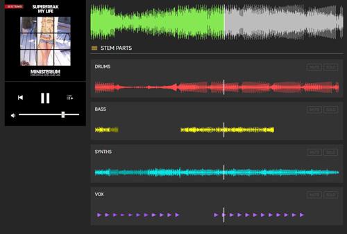 stem pour dj -séparation des voies audio